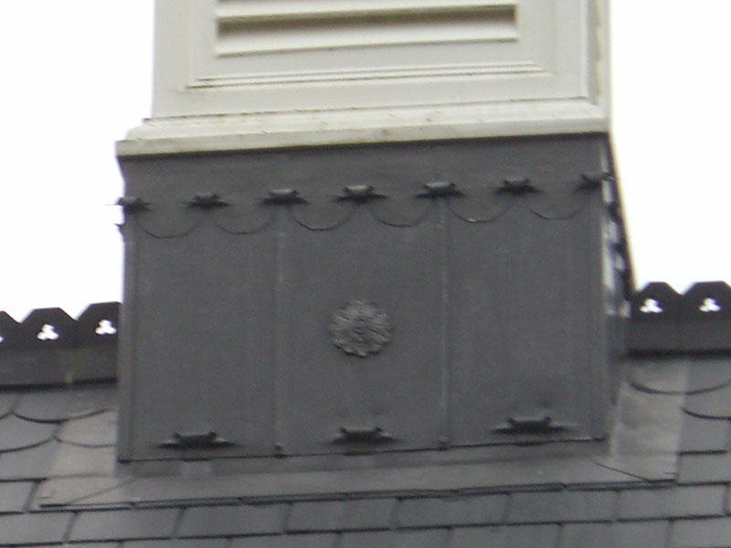 Leadwork detail