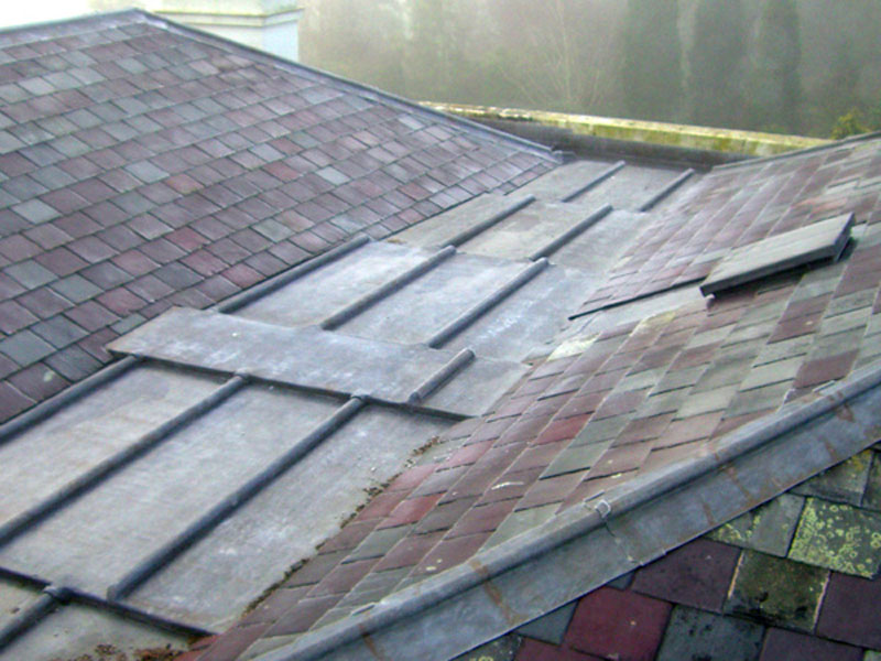 Lead roofing example
